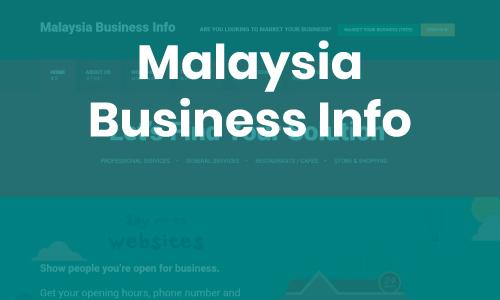 MALAYSIA BUSINESS INFO